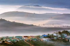 Dasar Village in misty day  Photo by Nguyen Tat Thang -- National Geographic…