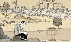 """Libri da mettere in valigia: """"Cronache di Gerusalemme"""", graphic novel del canadese Guy Delisle che conduce alla scoperta di un paese ricco di storia e bellezze #libriinvaligia"""