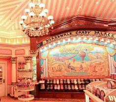 Candy Store   Mainstreet USA   Disneyland Paris