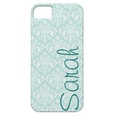 Mint iPhone 5 case. Customized for me! haha