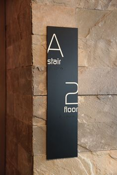 Example of floor-announcing wall signage at the Thompson LES Hotel, located in… Signage Display, Signage Design, Banner Design, Environmental Graphic Design, Environmental Graphics, Lower East Side, Visual Design, Branding And Packaging, Hotel Branding