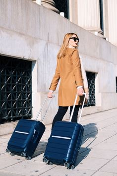Samsonite Flux suitcase in blue. Cabin Bag, Luggage Backpack, Travel Style, Traveling By Yourself, Suitcase, Travel Outfits, Stylish, Bags, Shopping