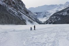 Lake Louise, Alberta  A winter wonderland that takes your breath away and can make you fall in love all over again.