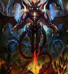 Satan dragon