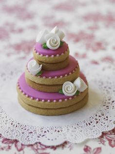 Lovely stacked cookie