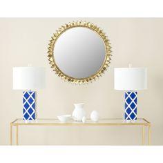 Safavieh Leaf Crown Sunburst Antique Mirror (MIR4025A)