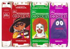 1985 McDonaldland COOKIES Boxes Hamburglar Ronald Grimace by gregg_koenig, via Flickr
