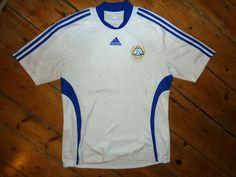 Finland Football Shirt  LARGE  FINNISH NATIONAL TEAM - Suomi Helsinki Turko
