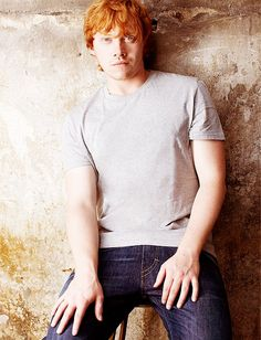 Rupert Grint - Remember when we were just waiting for him to turn 18 so our dreams wouldn't be about jailbait?