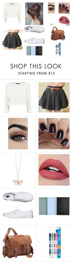 """""""Story time"""" by fearless-eater-16 on Polyvore featuring Alex Monroe, Vans, School of Life, SHARO and Paper Mate"""