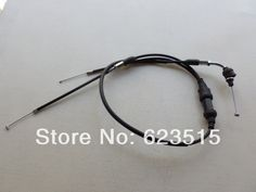 NEW PW50 PEEWEE Throttle cable for PEEWEE PW50 PY50 LC50PY Bike Parts 50CC JS50PY LONCIN 50PY JISANSHE PY50
