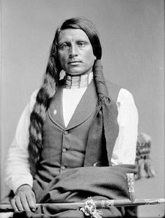 Honoring Chief Red Shirt, Oglala Lakota  Name: Ógle Lúta   Birthdate/Place: ca. 1847 near Fort Fetterman in Wyoming Territory  Death date/Place: January 4, 1925 – Pine Ridge Reservation, South Dakota  Best known for: was an Oglala Lakota chief, warrior and statesman. Red Shirt is notable in American history as a U.S. Army Native Scout and a progressive Oglala Lakota leader who promoted friendly associations with whites and education for his people. Learn More!  http://on.fb.me/20a3MG3