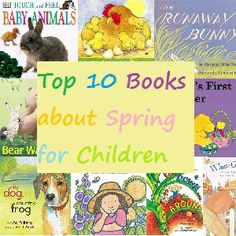 Top 10 Books about Spring for Kids Classroom Language, Art Classroom, Classroom Ideas, Spring Books, Kindergarten Books, Library Activities, Parenting Blogs, Spring Theme, Spring Activities