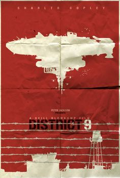 District 9 Minimalist Poster by shrimpy99 on DeviantArt