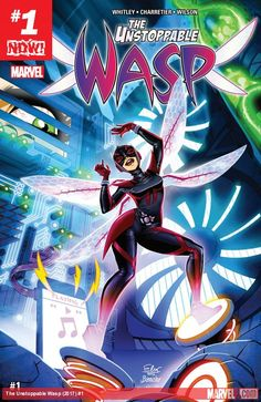 The Unstoppable Wasp #1, On any given Wednesday there are a good chunk of books that have strong women kicking butt and we can welcome The Unstoppable Wasp into the club,  #all-comicreview #ElsaCharretier #HankPym #JanetVanDyne #JeremyWhitley #JessicaPetrecz #JoeCaramagna #MarvelComics #MarvelNow! #MeganWilson #Mockingbird #Ms.Marvel #NadiaPym #review #TheUnstoppableWasp #TheUnstoppableWasp#1 #Wasp