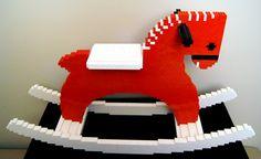 Lego rocking horse | Flickr - Photo Sharing!