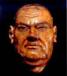 Image result for luther death mask