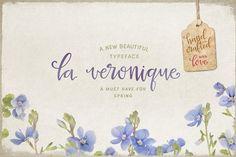 La Veronique Script (intro 20% off) by MyCreativeLand on @creativemarket