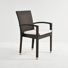Romansa Wicker Dining Arm Chair (Java)