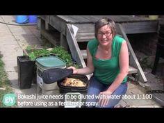 Bokashi Basics - How to set up a bokashi bucket for small scale kitchen waste - YouTube