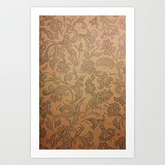Pattern Art Print by Adorluna - $20.00