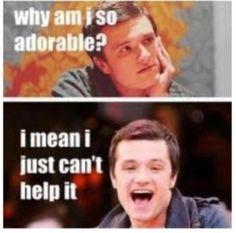 He is adorable.
