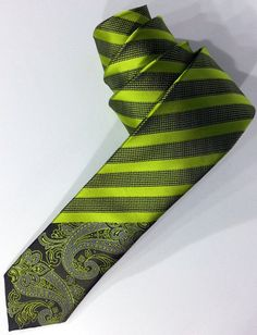 Green Tie Green Men's Necktie Green Cravat by PeraTime on Etsy #handmadeatamazon #nazodesign