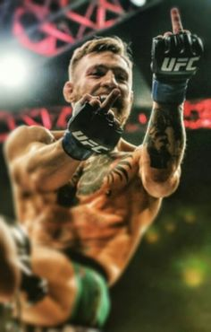 """The Notorious"" Conor McGregor after the win against José Aldo!   ""Stop hating, start participating"""