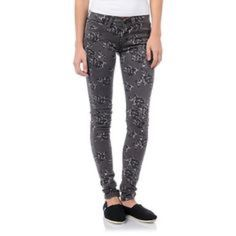Gray flower printed Levi's leggings Purchased from Urban. Never been worn. Still have the tags on them. Size 24/00 Levi's leggings. Please see last pic for most accurate color. Urban Outfitters Pants Leggings
