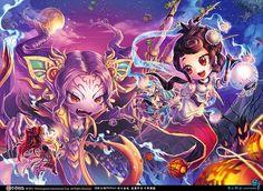 Anime Illustrations by B.c.N.y.
