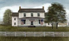 Billy Jacobs Print (My America Home)