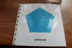 Kniha s postupem, jak používat a vykreslovat geometrické tvary