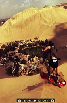 Huacachina oasis is located south of Lima, north of Nazca just a 10 minute drive from the desert city, Ica. How to get to Huacachina. Huacachina Peru, Cheap Web Hosting, Ecommerce Hosting, Oasis, Monster Trucks, Explore, City, Pictures, Travel