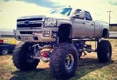 jacked up truck inspiration from others who tow wakeboarding boats…