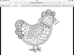 Bobbin Lacemaking, Bobbin Lace Patterns, Lace Heart, Lace Jewelry, Needle Lace, Fauna, String Art, Hobbies And Crafts, Pet Birds
