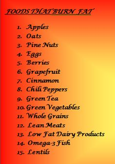 Foods That Burn Fat http://fat-loss-solutions-reviewed.com/blog/ #fatburningfoods #diet #loseweight