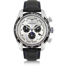 Versace Designer Men's Watches V-Ray Chrono Men's Watch (122,520 INR) ❤ liked on Polyvore featuring men's fashion, men's jewelry, men's watches, jewelry, black, mens stainless steel watches, versace mens watches, mens watches jewelry and mens watches