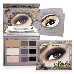 matte eyeshadow palette | too faced in the kit online shop | cosmetics, skin care, make-up, fragrances and hair products | kit cosmetics