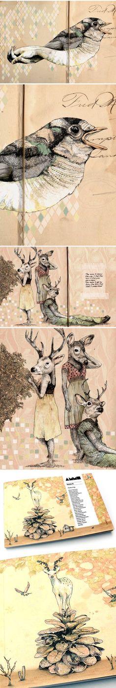 gabriella barouch - I love the dreamlike quality of her work