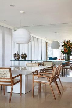 Carol Buffara Revela Seu Lar No Leblon. Dinner RoomDinning Room IdeasDining  ... Part 98