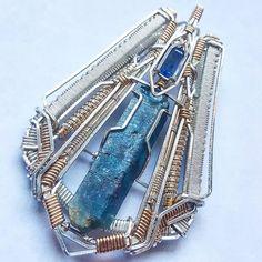 ©Patrick Boyle #wirewrap #jewelry #wirewrapjewelry