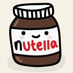 """Nutella Cute"" Stickers by RekiP Cute Food Drawings, Kawaii Drawings, Tumblr Stickers, Cute Stickers, Phone Stickers, Transparents Tumblr, Png Tumblr, Waterproof Stickers, Aesthetic Stickers"