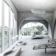 TAMA Art University Library, Hachioji City, Tokyo, Japan by Rasmus Hjortshøj TAMA Art University Library by Toyo Ito Architects Ito's inspiration, however, was not the arched architecture of the past....