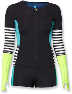 Stylish lightweight insulation when you're paddleboarding, kayaking or surfing.