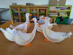 Animal Crafts, Egg Chair, Birds, Activities, Children, Animals, Jar, Home Decor, School