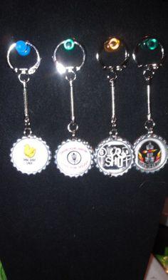 Disc Golf Keychains