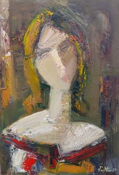 Abstract Portrait, Abstract Oil, Abstract Expressionism, Simple Oil Painting, Easy Canvas Painting, Oil Canvas, Oil Pastel Art, Pastel Portraits, Fauvism
