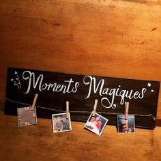 Hey, j'ai trouvé ce super article sur Etsy, chez https://www.etsy.com/ca-fr/listing/250244099/pancarte-moments-magiques-en-bois-sign
