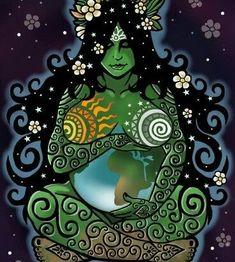 28 new ideas mother nature goddess art births Mother Earth, Spiritual Art, Sacred Feminine, Goddess, Gaia Goddess, Mother Nature, Ancient Statues, Art, Mother Nature Goddess