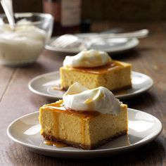 Contest-Winning Pumpkin Cheesecake Dessert Recipe -With its gingersnap crust and maple syrup drizzle, this rich and creamy spiced pumpkin dessert never fails to get rave reviews. It cuts nicely, too.—Cathy Hall, Phoenix, Arizona